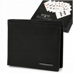 Męski portfel skórzany klasyczny RFiD Beltimore P93