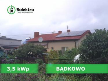 Fotowoltaika PAKIET MINI 3,5 kWp, Bądkowo, oferta