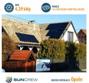 Sprzedaż i montaż paneli fotowoltaicznych, Opole, oferta