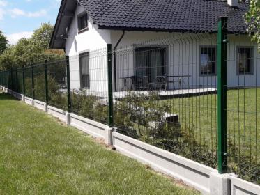 Panel Ogrodzeniowy, Ogrodzenia Panelowe fi4 1,5m + podmurówka 57 zł Do negocjacji