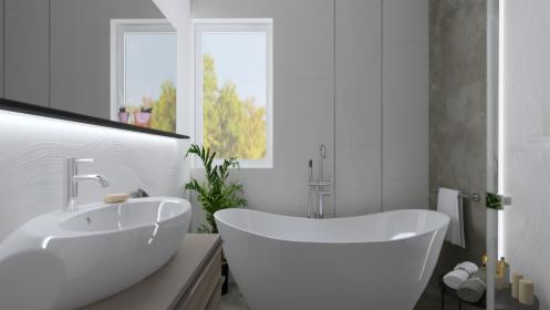 Podstawowy projekt łazienki, Chorzów, oferta