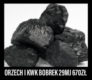 Węgiel orzech KWK bobrek