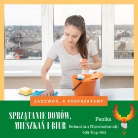 Sprzątanie biur, mieszkań, domów oraz innych powierzchni, Warszawa, oferta