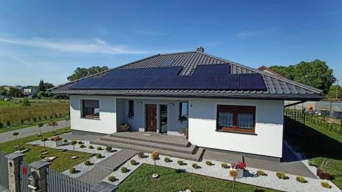 instalacja fotowoltaiczna 6,8 kw, panele fotowoltaiczne. sprzedaż, montaż,  full black, Bydgoszcz, oferta