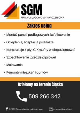 Usługi remontowe, Wodzisław Śląski, oferta