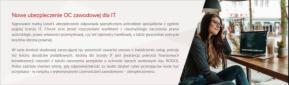 Nowe ubezpieczenie - OC ZAWODOWE IT, Piekary Śląskie, oferta