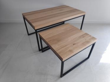 Stolik Stoliki kawowe metal loft loftowy ława zestaw stołów stolików, Rumia, oferta