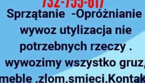 Transport, Wywóz i Utylizacia, Wrocław, oferta