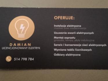 Pogotowie elektryczne, Dąbrowa Górnicza, oferta