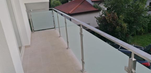 Balustrada nierdzewna+szyba, Iwanowice Włościańskie, oferta