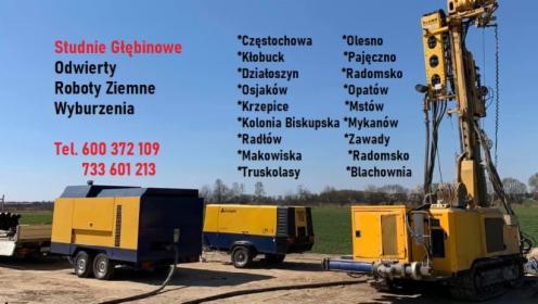 Wiercenie Studni Głębinowej - Wieluń , Osjaków, Pajęczno , Działoszyn , Częstochowa, Wieluń, oferta