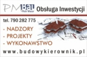 Kierownik Budowy, Nadzory Budowlane, Kosztorysy, Obsługa Inwestycji, Budowa Domów,
