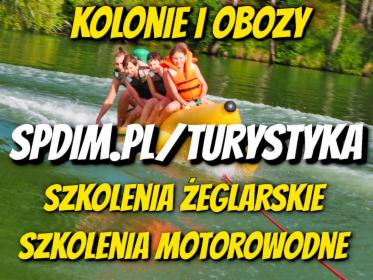 Kolonie i Obozy, Szkolenia, kursy żeglarskie oraz motorowodne, Patenty na Mazurach, Ruciane-Nida, oferta
