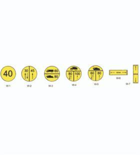 Znaki dla kierujących pojazdami wojskowymi, dla szlaków rowerowych, Strzelce Krajeńskie, oferta