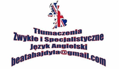 Tłumaczenia Język Angielski, Kraków, oferta