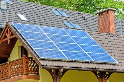 Instalacja dach skośny 9kW