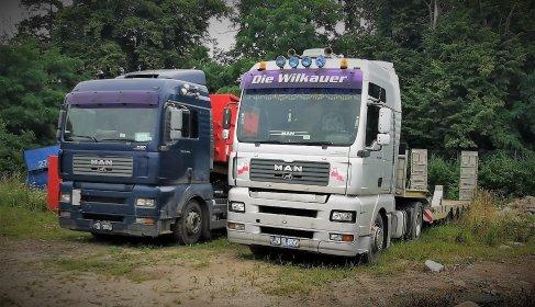 Transport niskopodwoziowy, przewóz maszyn, wywóz ziemi, urobku, gruzu