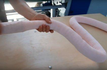 Wypychanie Kulką silikonową Materiałowych węży o średnicy ok. 50-70mm, oferta