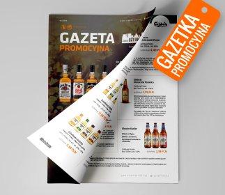 Projekty graficzne - foldery reklamowe, oferta
