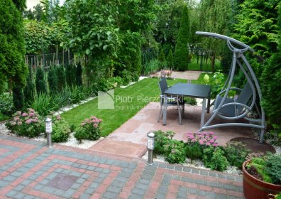 Projektowanie ogrodów, oferta