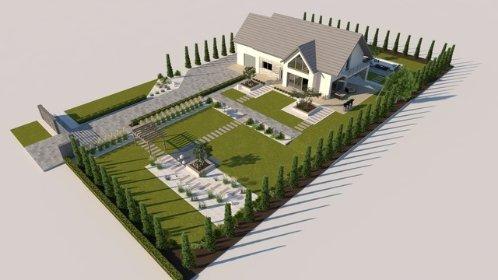 Projektowanie ogrodów, zagospodarowania terenu, oferta