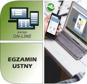 Program Egzamin Ustny ON-LINE, oferta