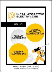 Instalatorstwo Elektryczne, oferta
