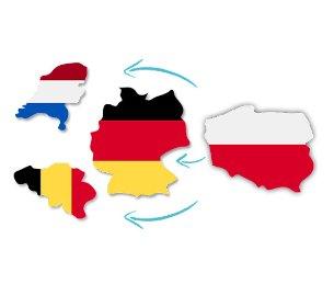 Współpraca z firmami Transportowymi Przewoźnikami. Stałe Zlecenia Niemcy Benelux 1,10 €/km, oferta