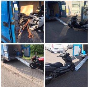 Transport motocykli, oferta