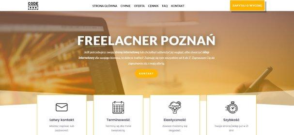 Tworzenie strony internetowej, oferta