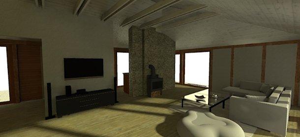 Wizualizacja wnętrza - 1 ujęcie, oferta