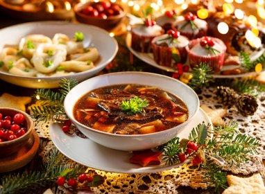 Catering na Boże Narodzenie, oferta