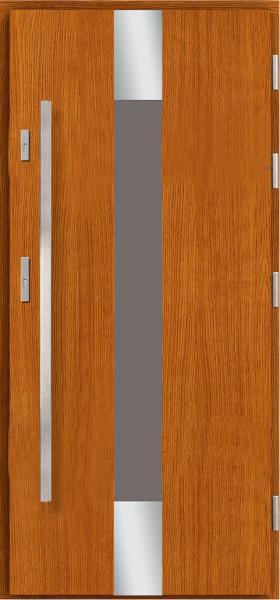 Drzwi wejściowe stalowe, aluminium, drewniane