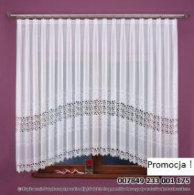 Firanka z markizety 007849 wymiar 175 x 500 cm / kolor biały, Tarnobrzeg, oferta