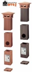 Najtańszy Komin ceramiczny Domus EFFE2 220 8mb, oferta