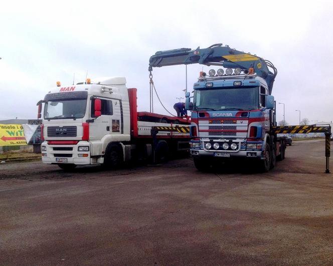 Fantastyczny transport hds: maszyn, maszyn, urządzeń, kontenerów, łodzi, domków QE28
