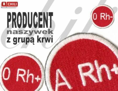 Modne ubrania Naszywki reklamowe, producent naszywek z logo firmy, naszywki IN57