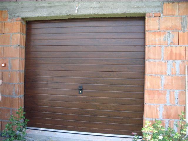 Inteligentny BRAMA GARAŻOWA SEGMENTOWA OCIEPLANA drzwi garażowe, Dzierżoniów MU49