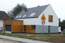 Budowa Zdrowych Domów w technologii szkieletowej parterowych z użyt.poddaszem powyżej 120m2