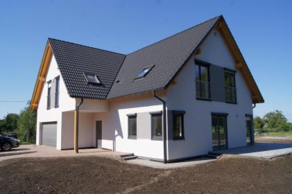 Budowa domu z poddaszem użytkowym