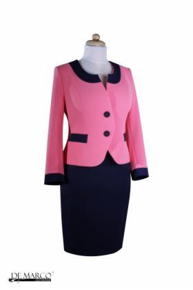 99f2ed3907 Elegancki kostium biznesowy do pracy Szycie na miarę De Marco