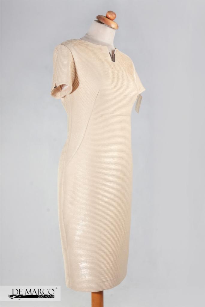 24c54593e9 Elegancka biznesowa sukienka do pracy - Oferta nr 123129 - Oferteo.pl