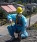 Demontaż Eternitu ( Azbestu ), Kętrzyn, 2