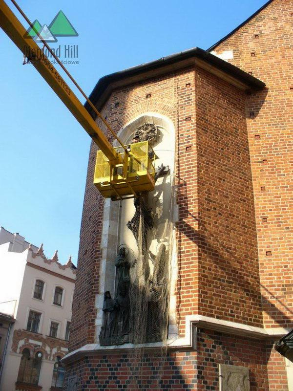 Zaktualizowano Prace wysokościowe, alpinistyczne, malowanie dachów, mycie okien NV46