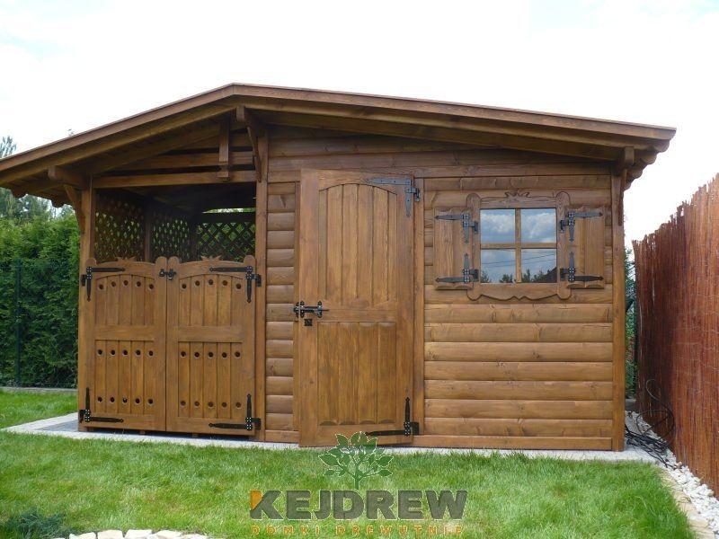 Poważne Domek z okienkiem i zamykaną drewutnią, Częstochowa - Oferta DF41