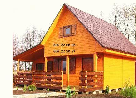 Domki Drewniane Letniskowe Szkieletowe Altanki Altany