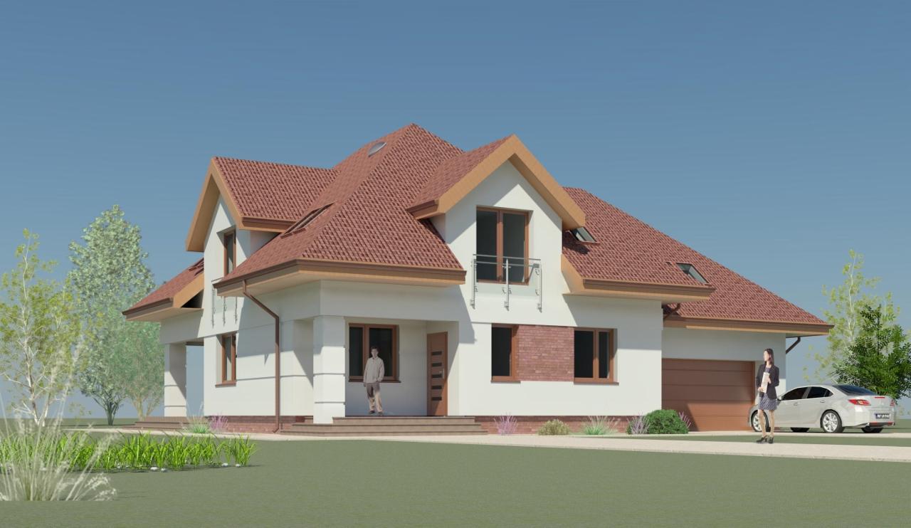 Typowe I Indywidualne Projekty Domów Jednorodzinnych Z Poddaszem