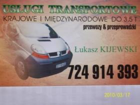 Usługi Transportowe szukam stałych zleceń, oferta