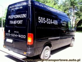 Usługi transportowe taxi bagażowe przeprowadzki bagażówka tani transport mebli AGD i innych