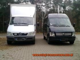 Transport przeprowadzki usługi transportowe taxi bagażowe bagażówka Warszawa Otwock Polska